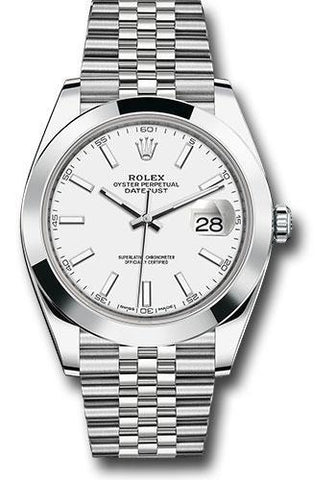 Rolex Oyster Perpetual Datejust 41 Watch 126300 wij