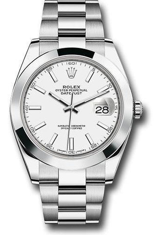 Rolex Oyster Perpetual Datejust 41 Watch 126300 wio