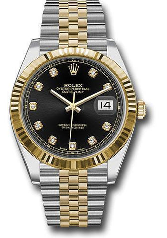 Rolex Oyster Perpetual Datejust 41 Watch 126333 bkdj
