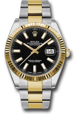 Rolex Oyster Perpetual Datejust 41 Watch 126333 bkio