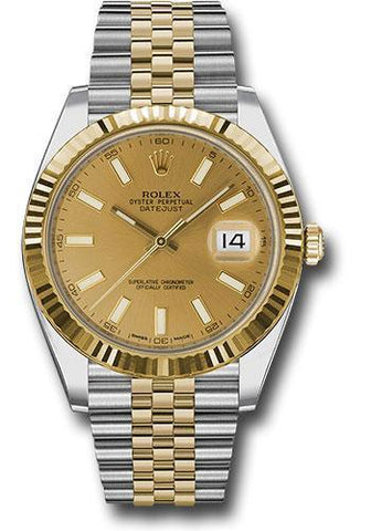 Rolex Oyster Perpetual Datejust 41 Watch 126333 chij