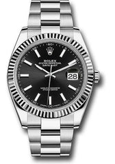 Rolex Oyster Perpetual Datejust 41 Watch 126334 bkio