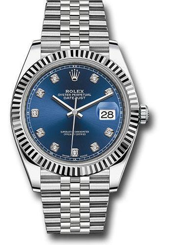 Rolex Oyster Perpetual Datejust 41 Watch 126334 bldj