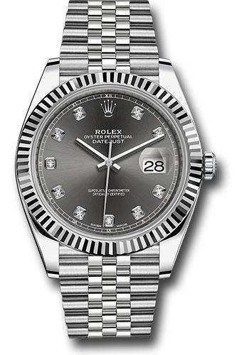 Rolex Oyster Perpetual Datejust 41 Watch 126334 dkrdj