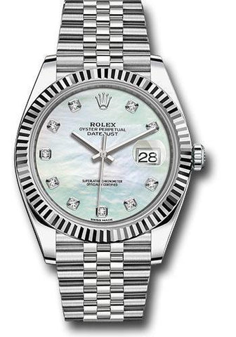 Rolex Oyster Perpetual Datejust 41 Watch 126334 wmdj