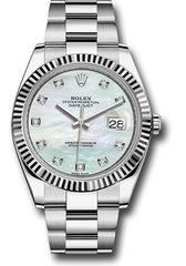Rolex Oyster Perpetual Datejust 41 Watch 126334 wmdo