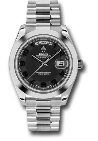Rolex Oyster Perpetual Day-Date II President 218206 bkcap