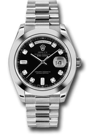 Rolex Oyster Perpetual Day-Date II President 218206 bkdp