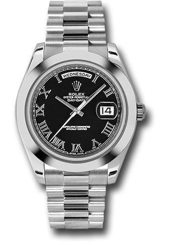 Rolex Oyster Perpetual Day-Date II President 218206 bkrp