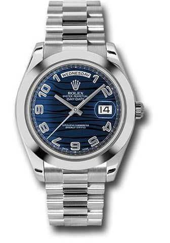 Rolex Oyster Perpetual Day-Date II President 218206 blwap