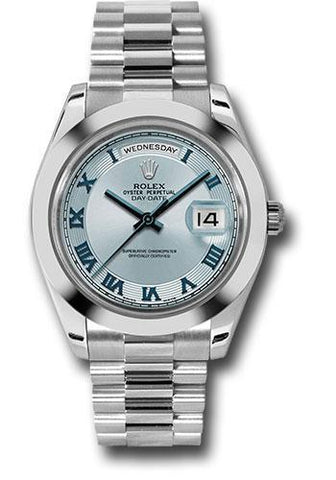 Rolex Oyster Perpetual Day-Date II President 218206 ibcrp