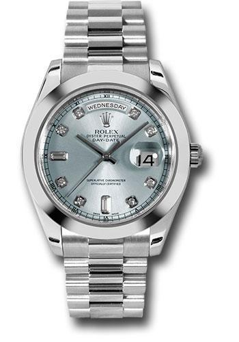 Rolex Oyster Perpetual Day-Date II President 218206 ibldp