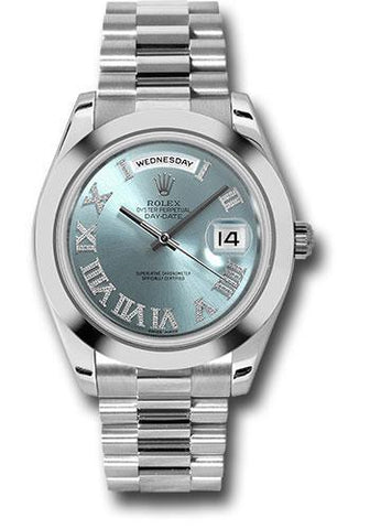 Rolex Oyster Perpetual Day-Date II President 218206 ibldrp
