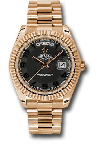 Rolex Oyster Perpetual Day-Date II President 218235 bkcap