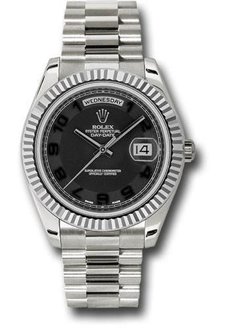 Rolex Oyster Perpetual Day-Date II President 218239 bkcap