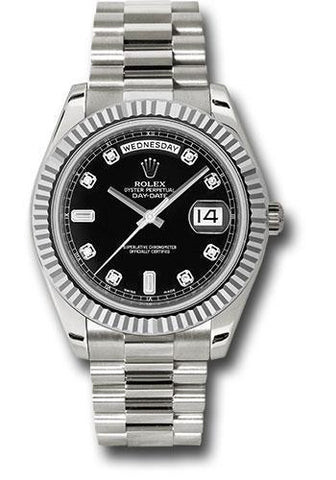 Rolex Oyster Perpetual Day-Date II President 218239 bkdp