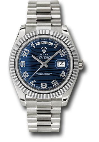 Rolex Oyster Perpetual Day-Date II President 218239 blwap