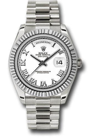 Rolex Oyster Perpetual Day-Date II President 218239 wrp