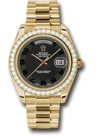 Rolex Oyster Perpetual Day-Date II President 218348 bkcap