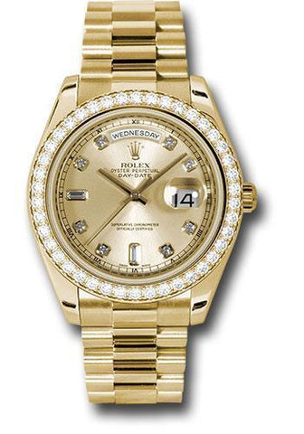 Rolex Oyster Perpetual Day-Date II President 218348 chdp