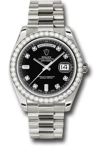 Rolex Oyster Perpetual Day-Date II President 218349 bkdp