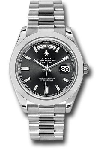 Rolex Oyster Perpetual Day-Date 40 Watch 228206 bkbdp