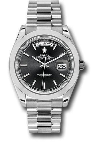 Rolex Oyster Perpetual Day-Date 40 Watch 228206 bkip