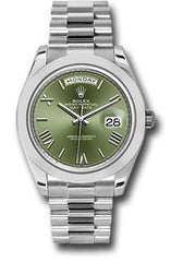 Rolex Oyster Perpetual Day-Date 40 Watch 228206 ogrp