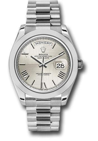Rolex Oyster Perpetual Day-Date 40 Watch 228206 sqmrp