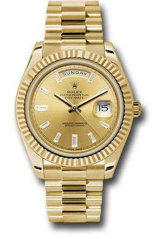 Rolex Oyster Perpetual Day-Date 40 Watch 228238 chbdp