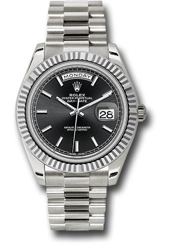 Rolex Oyster Perpetual Day-Date 40 Watch 228239 bkip