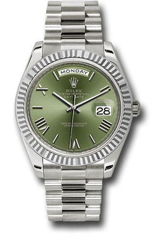 Rolex Oyster Perpetual Day-Date 40 Watch 228239 ogrp