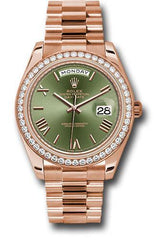 Rolex Oyster Perpetual Day-Date 40 Watch 228345RBR ogrp