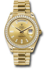 Rolex Oyster Perpetual Day-Date 40 Watch 228348RBR chbdp
