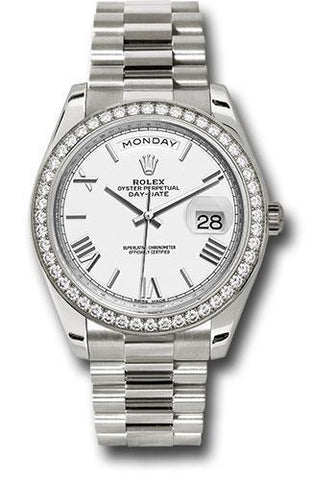 Rolex Oyster Perpetual Day-Date 40 Watch 228349RBR wrp