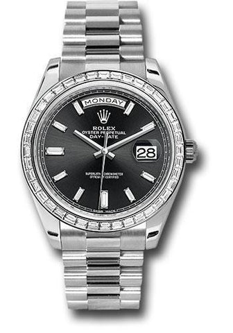 Rolex Oyster Perpetual Day-Date 40 Watch 228238 bkbdp