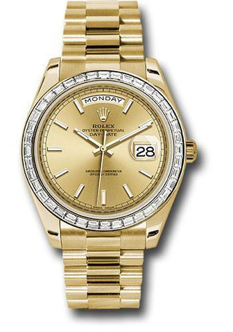 Rolex Oyster Perpetual Day-Date 40 Watch 228398TBR chip