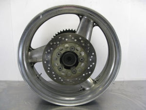 KAWASAKI ZX7R ZX750R ZX750 R ZX7 REAR WHEEL ROTOR SPROCKET RIM 89 90 91 92 93