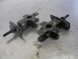 Suzuki 1992 92 GSX750F GSX 750 Katana 89-96 Rear Axle Chain Adjusters (2) OEM