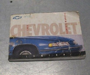 OWNER'S OWNERS MANUAL 1992 CHEVY LUMINA CHEVROLET 92 1992