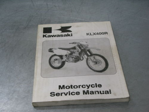Kawasaki Factory Service Manual 2003 03 KLX400R KLX400 R KLX 400 OEM Genuine