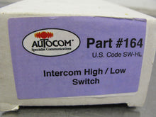 New Autocom # 164 Intercom High / Low Switch NOS New Old Stock