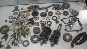 APRILIA MILLE 1000 ROTAX TRANSMISSION + ENGINE PARTS LOT CAMS GEARS CAM CHAIN