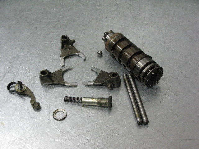 Ducati ST3 06 2006 Transmission Shift Drum Star Forks Shafts 13K Miles Trans OEM