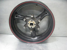 MOTO GUZZI BREVA V1100 V11 06 2006 REAR WHEEL RIM STRAIGHT 2006 1100