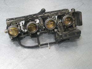 BMW K1200RS K1200 RS 99 THROTTLE BODIES BODY STEPPER POSITION SENSOR 26K MILES