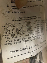 Luftmeister Vintage NOS Braided Stainless Brake Lines BMW RS RT Pre 81 w/ Drum