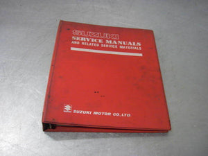 Suzuki Factory Service Manual + Binder GS650 GS 650 E / Ez OEM Genuine Repair