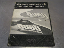 Buell Parts and Service/Repair Manual Guide for 1999 Models