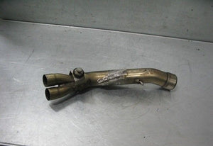 VOR VERTEMATI 450 MX 02 2002 EXHAUST MIDDLE MID PIPE + SPRINGS